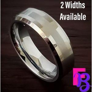 💥6MM | 8MM Tungsten Carbide Wedding Band